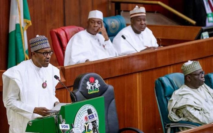Buhari presents N8.83trn budget for 2019 to National Assembly