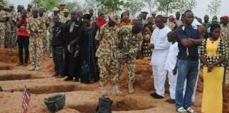 Metele: Army buries 19 soldiers