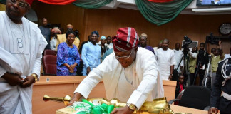 Infrastructure, Education Get Priority As Oyetola Presents N152.7 Bn 2019 Budget