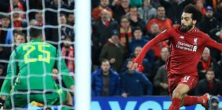 Salah's goal fires Liverpool into UEFA Champions League last 16