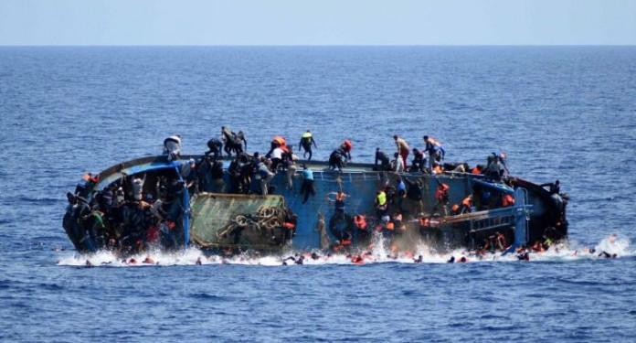 117 people feared dead after migrant boat sinks off Libya