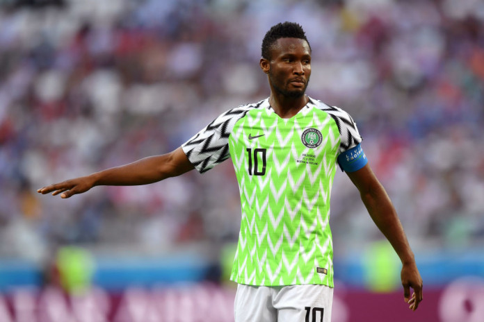 Mikel Obi Terminates Contract With Chinese Club Tianjin Teda, Shops For A New Club
