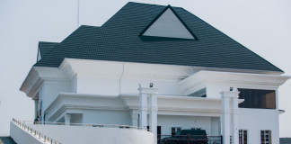Super Eagles player, Emmanuel Emenike Launches His Mansion With An Overhead Bridge