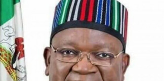 Ortom Swears in Six New Council Chairmen, Two Commissioners