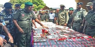 Police intercept 34,000 live cartridges heading to Onitsha