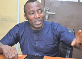 Presidential Election : Sowore pledges to cut NASS members jumbo pay