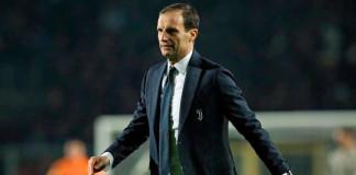 Juventus coach Allegri praises referee who sent him off