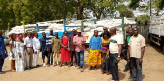 NEMA Donates 50 Trucks of Food Items to Benue IDPs