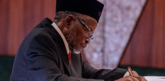 Acting CJN swears in remaining 13 members of election petitions tribunals