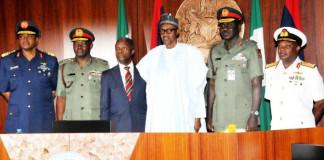 Again, Buhari, Security Chiefs Meet