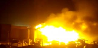 Early Morning Fire razes 13 Shops in Agbara Market