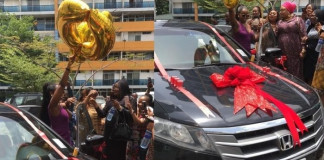 Ex-BBNaija contestant, BamBam Receives Brand New Car as Birthday Gift From Fans