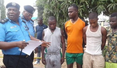 Benue Police Command Parades 15 Suspects, Recovers Arms