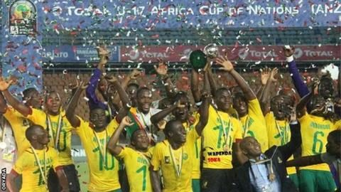 U17 AFCON: Cameroon Lifts the Trophy
