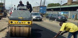 Lagos Begins Fixing of Potholes, Lists 87 Major Roads
