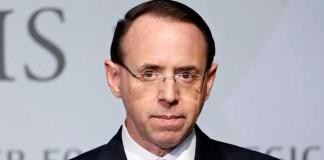 Rod Rosenstein: US deputy attorney general quits