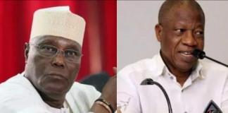 Atiku, PDP Sabotaging Buhari –FG, 'Only the Guilty are Afraid,' Atiku Replies