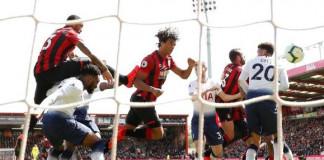 EPL Top-four: Nine-man Spurs Slump to Bournemouth