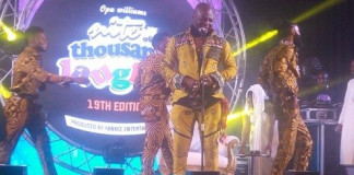 CharlyBoy Returns to Stage, Thrills Fans at Comedy Fiesta