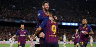 Barcelona Beat Liverpool 3-0 in Champions League Semi-final First Leg
