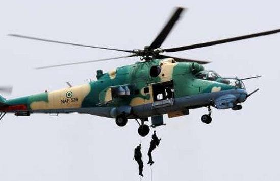 NAF Bombs, Kills ISWAP Fighters in Borno