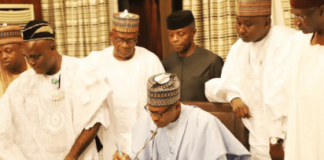 NASS to Transmit N8.92trn Approved 2019 Appropriation Bill to Buhari Thursday