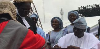 Breaking: Sanwo-Olu Sworn in as Lagos Governor
