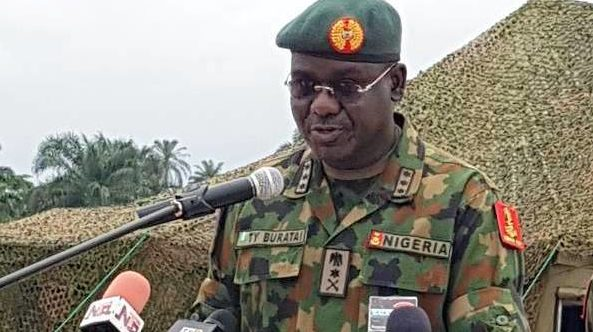 Buratai Accuses Politicians of Sponsoring Bandits, Kidnappers