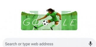 Google Celebrates Okwaraji 55th Birthday with Doodle