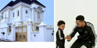 Comedian, I Go Dye, Gifts His Son Mansion to Celebrate His 9th Birthday