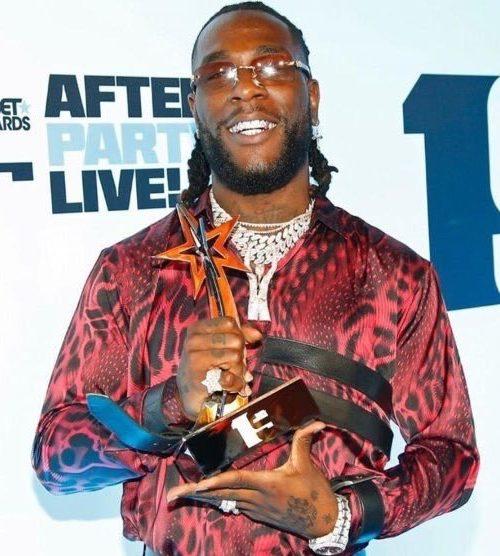 Burna Boy Wins Best International Act at 2019 BET Awards
