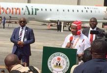 Ibom Air Operates Inaugural Flight To Lagos