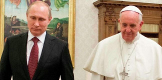 Pope Francis to Welcome Russia's Putin to Vatican for 3rd Time