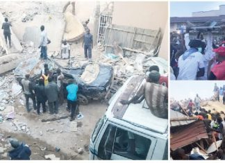 Jos Building Collapse: Owner, 2 Wives Die as Death Toll Rises to 12