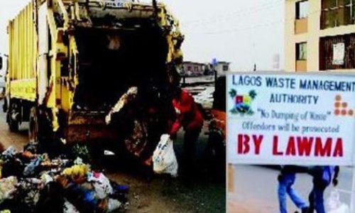 LAWMA Shuts Sangotedo Market Over Illegal Dumping of Refuse