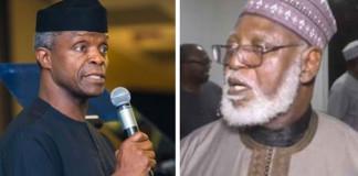 Osinbajo, Abubakar Call for Unity Among Nigerians