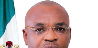 Gov. Udom Swears in New EXCO, Charges Them on Integrity