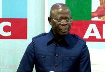 Edo APC Suspends Oshiomhole