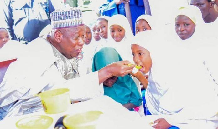 Kano Govt. Begins Free Feeding In 6,800 Public Primary Schools