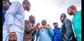 Gbajabiamila Sympathises With Balogun Market Fire Outbreak Victims