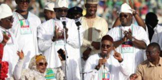 Gov. El-Rufai On His Knees, Begs Kogi People To Re-elect Bello