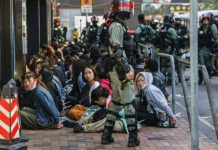 Hong Kong Polytechnic University: Police Surround Campus After Night Of Violence