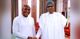 Buhari Congratulates Bayelsa Gov-elect Lyon