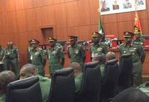 Nigerian Army decorates5 23 New Generals