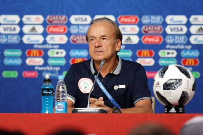 NFF Officials Will Not Influence My Selection – Rohr