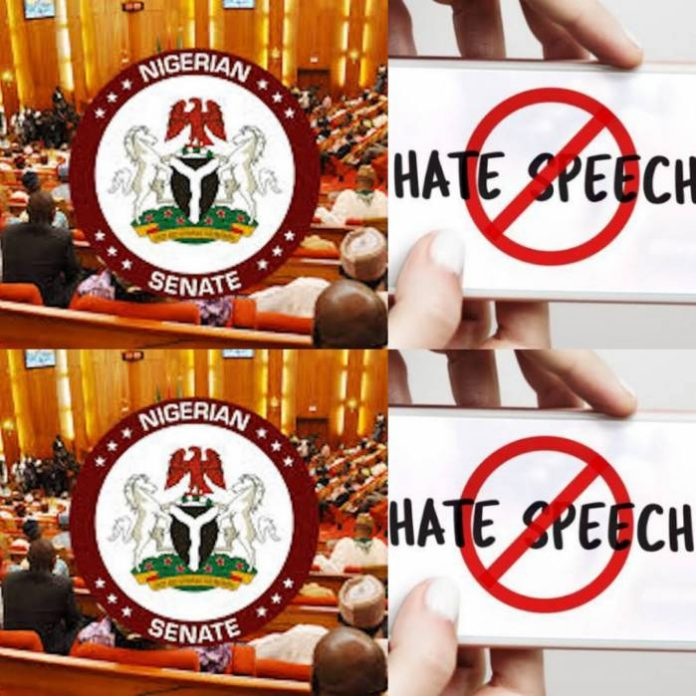 JUST IN: Senate Introduces Bill To Prohibit Hate Speech