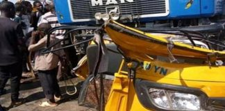 Trailer Allegedly Fleeing From Policemen Crushes 20 Persons To Death In Yola