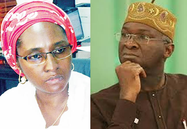 Bad Roads : Ahmed Counters Fashola, Says Works Ministry, Three Others Received Highest Funding