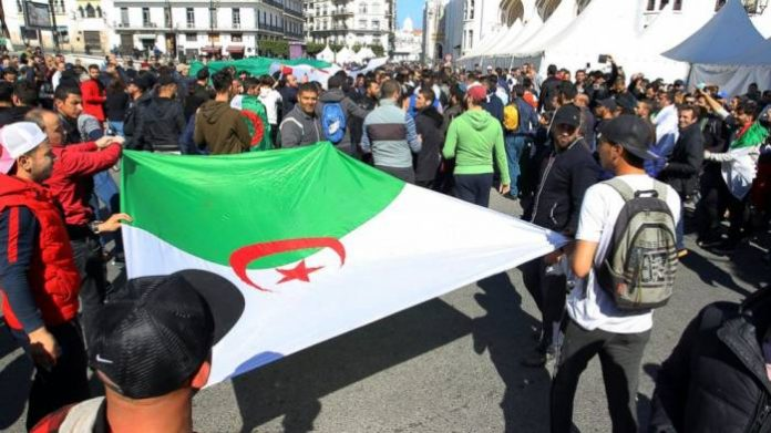Hundreds In Algiers Protest Elections Amid Crackdown By Authorities