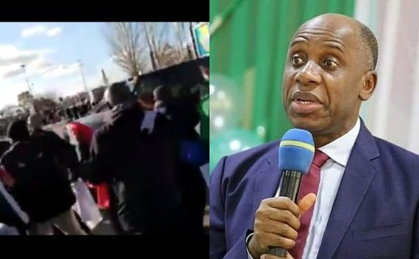 Followers Of Rotimi Amaechi React To Attack On Him In Spain